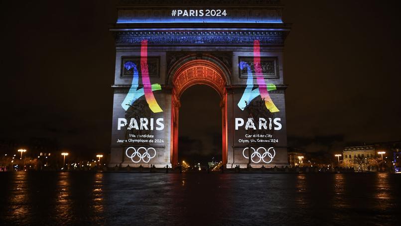 La ville a dévoilé début février le logo de la candidature parisienne aux JO.