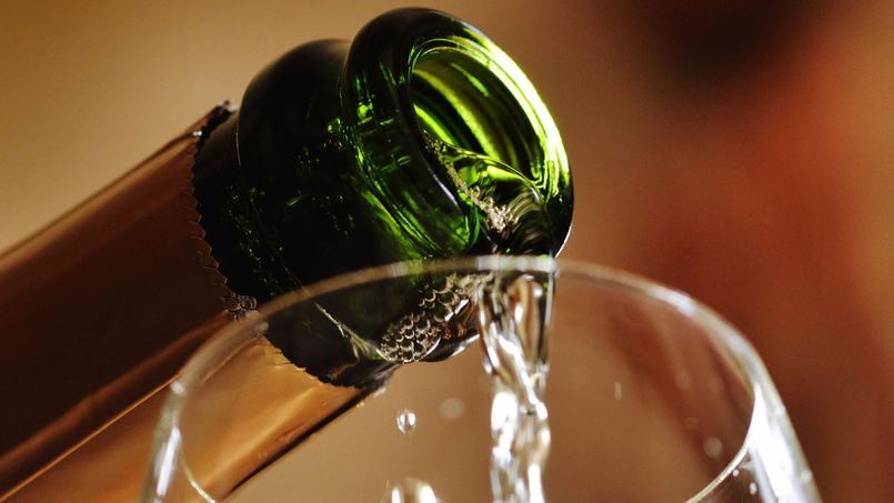 Le chiffre d'affaires du vin de Champagne a atteint un niveau record en 2015. Crédits photo: LEIF CARLSSON / Le Figaro