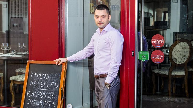 Le restaurateur Alexandre Callet a ouvert sa première affaire à 23 ans, en 2008. Crédits Photo: Alexandre Callet