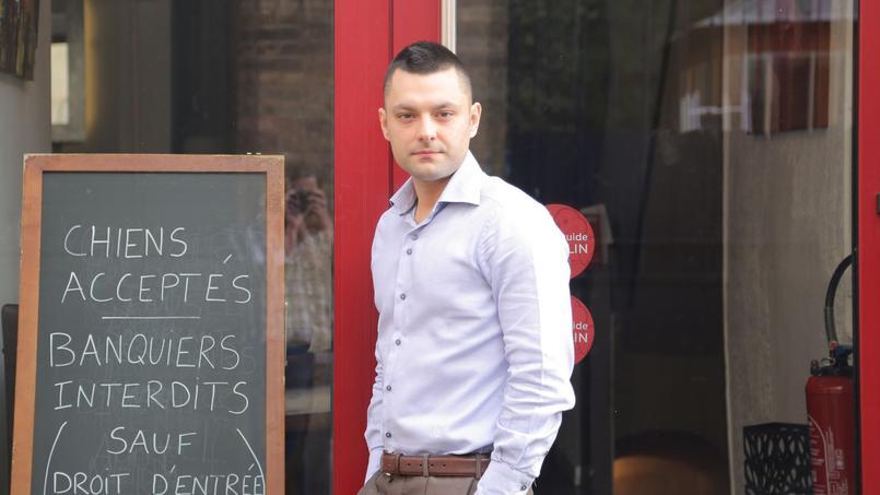 L'entrepreneur s'est vu refuser un crédit de 70 000 euros pour lancer sa seconde affaire en novembre 2015. Crédits Photo: Pauline Chateau / LE FIGARO