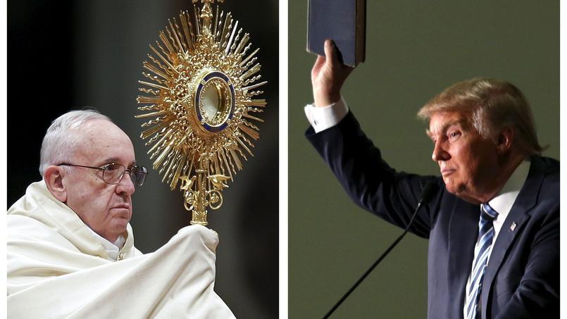 Le pape François s'est invité jeudi dans la campagne américaine en attaquant Donald Trump.