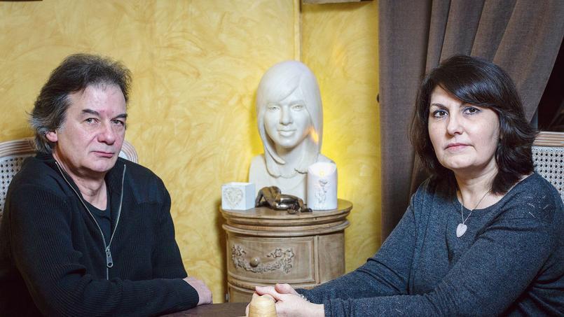 Catherine et Jean-Luc Vannier, dont la fille Cécile a été tuée dans un attentat au Caire le 22 février 2009.