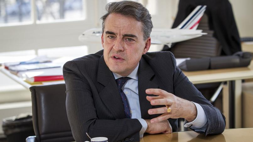 Alexandre de Juniac, PDG d'Air France-KLM.
