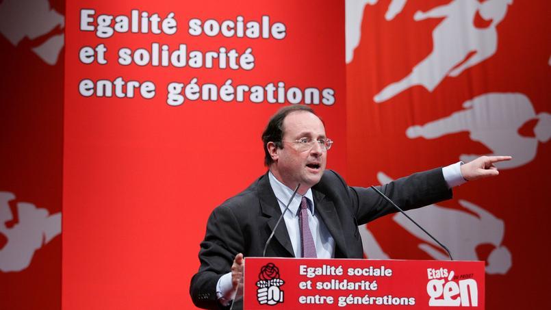 François Hollande, alors premier secrétaire du Parti socialiste, en 2006