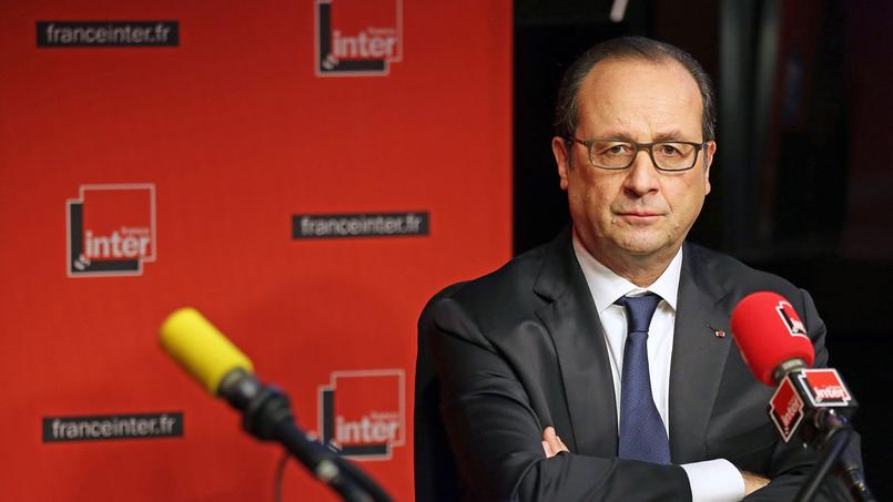 François Hollande à France Inter le 5 janvier 2015.