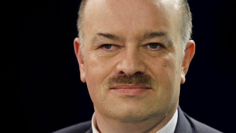 Alain Bauer, spécialiste des questions de sécurité urbaine, en mars 2012 dans les locaux du Figaro.