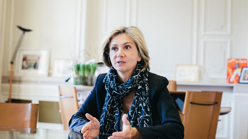 Valérie Pécresse, la présidente de la région Ile-de-France.