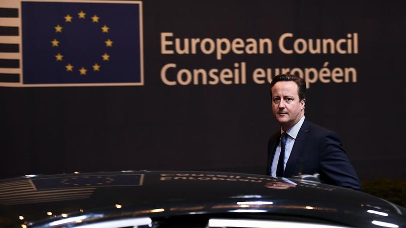 David Cameron, à Bruxelles, ce vendredi 19 février.