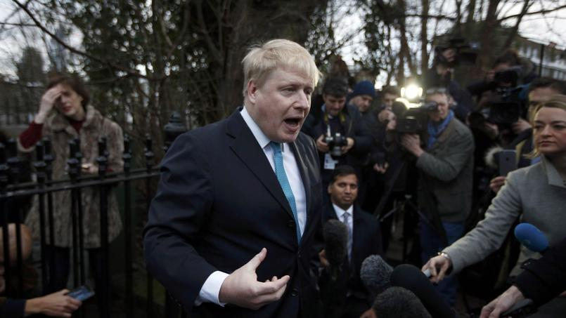 Boris Johnson, maire de Londres, dimanche à Londres.