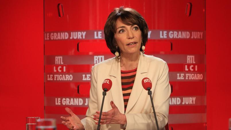 Marisol Touraine, invitée du «Grand Jury RTL-Le Figaro-LCI».