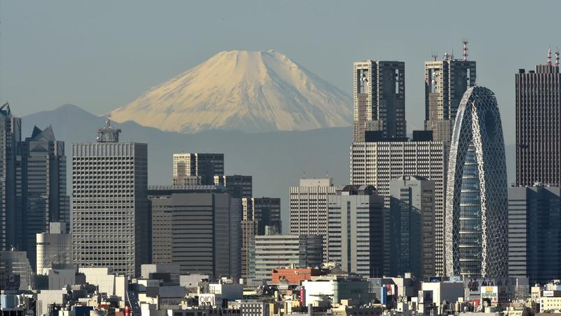 La zone entre Tokyo et Osaka, via le mont Fuji, capte une très large majorité des flux touristiques.