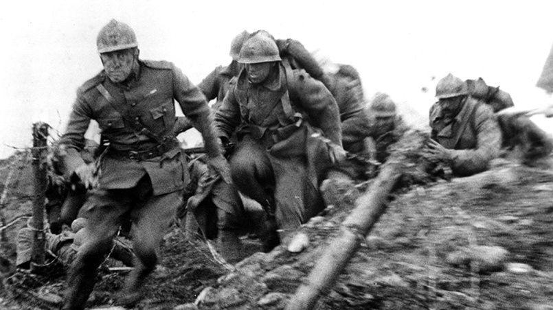 La Première Guerre mondiale, depuis un siècle, a été source d'inspiration pour les réalisateurs et les documentaristes.