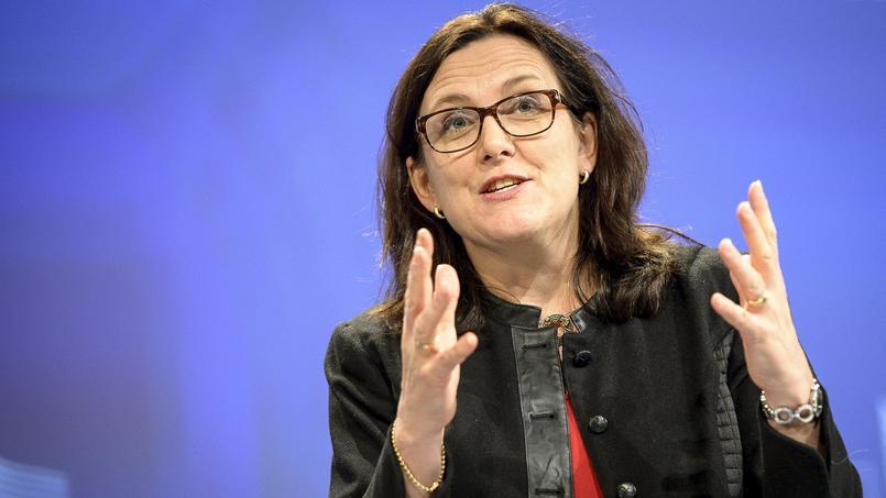 Cecila Malmström, commissaire européenne au Commerce.