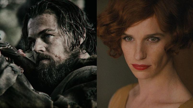 Leonardo DiCaprio dans The Revenant et Eddie Redmayne dans The Danish Girl incarnent tous les deux des personnages qui ont existé.