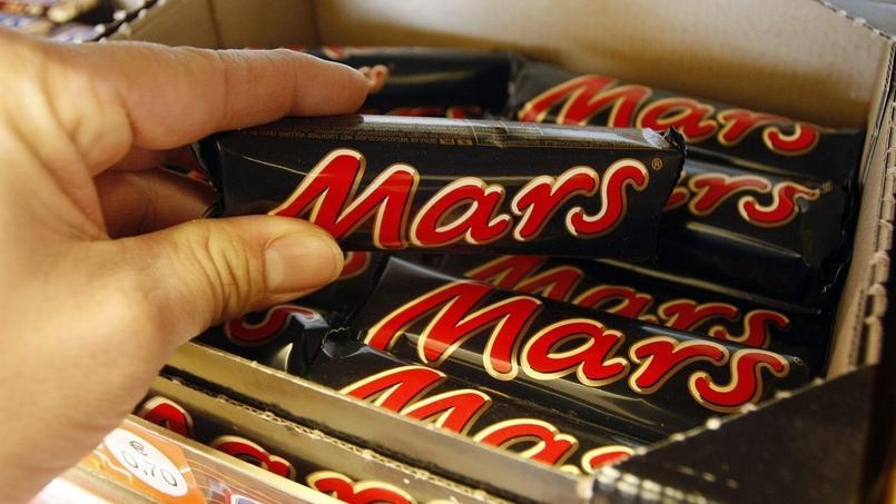 En France, le rappel concerne des barres Mars, des Snickers, des paquets de miniatures Mix tubo et des bonbons «Celebrations».