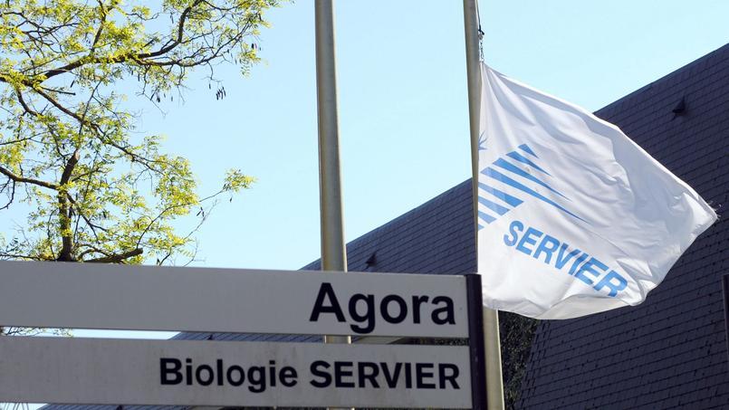 Les laboratoires Servier à Gily, près d'Orléans.