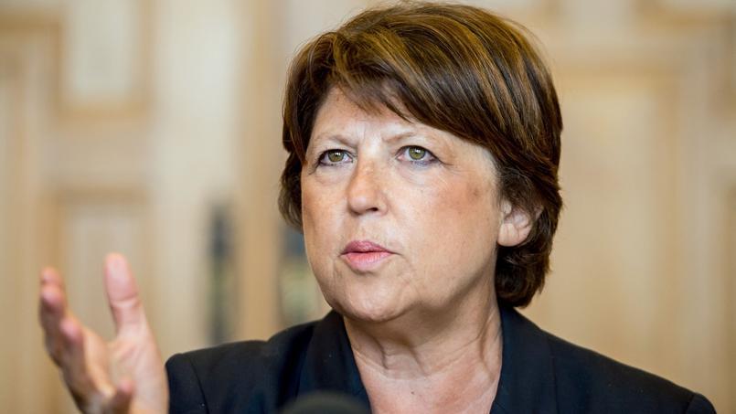 Martine Aubry à Lille, le 8 septembre 2014.