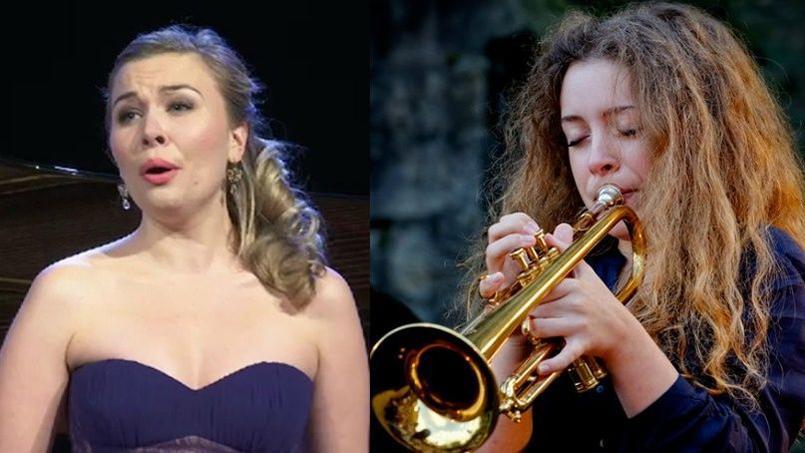 La soprano franco-danoise Elsa Dreisig et la jeune virtuose de la trompette Lucienne Renaudin Vary ont été récompensées lors des 23es Victoires de la Musique classique.