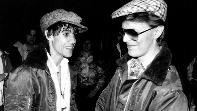 En 1977, David Bowie produit les deux premiers albums solo de l'Iguane The Idiot et Lust for Life. «Il s'est donné beaucoup de mal pour que je bénéficie d'un bon karma», a-t-il déclaré, nostalgique.