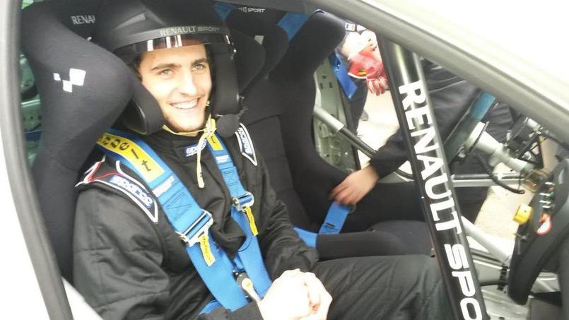 Adrien Rabiot est devenu copilote le temps de quelques tours de circuit.
