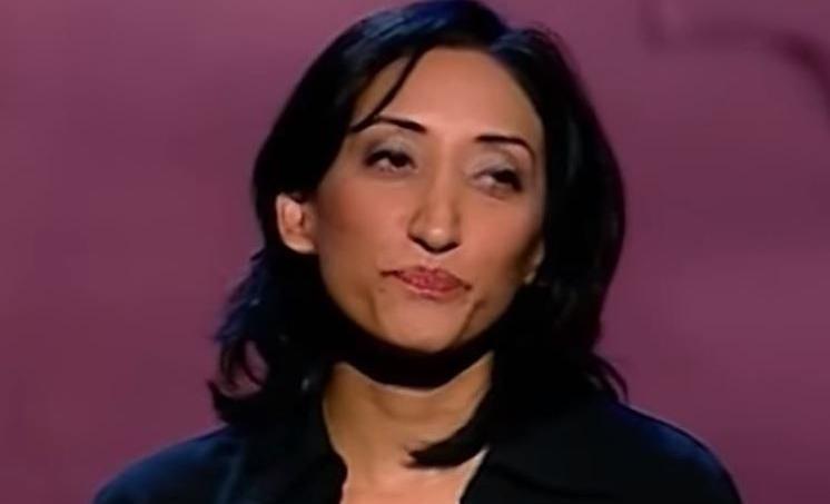 Shazia Mirza sur la scène de La Java a été confrontée à un public quelque peu électrique.