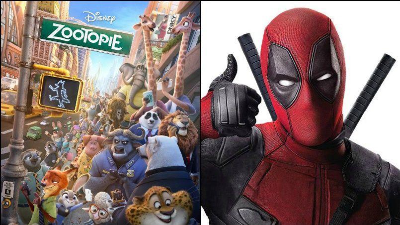 Alors que Zootopie réalise le deuxième meilleur démarrage de la semaine, Dead a franchi cette semaine la barre des 2 millions de spectateurs.