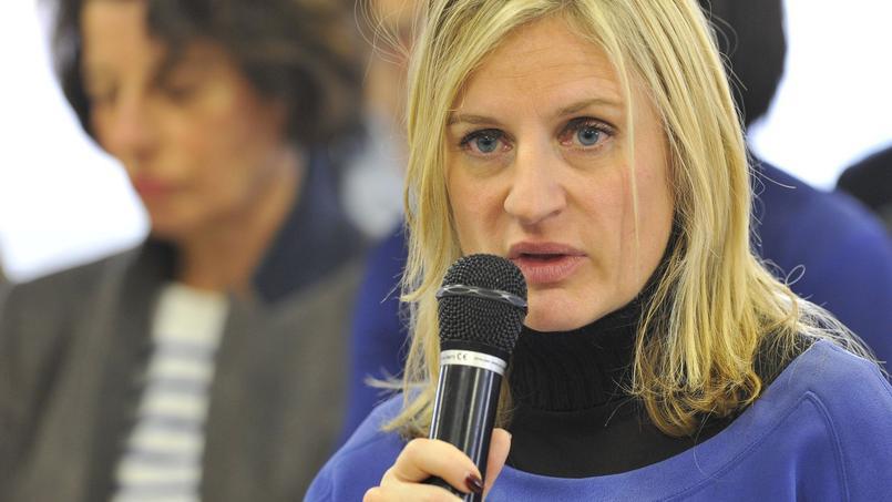 Valérie Debord à Chambley-Bussières, le 31 octobre 2015.