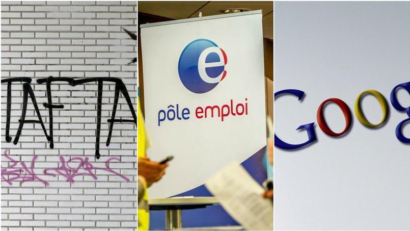 Baisse inexpliquée du chômage, Google et le fisc, Apple et le FBI : que retenir de l'actu éco cette semaine ?