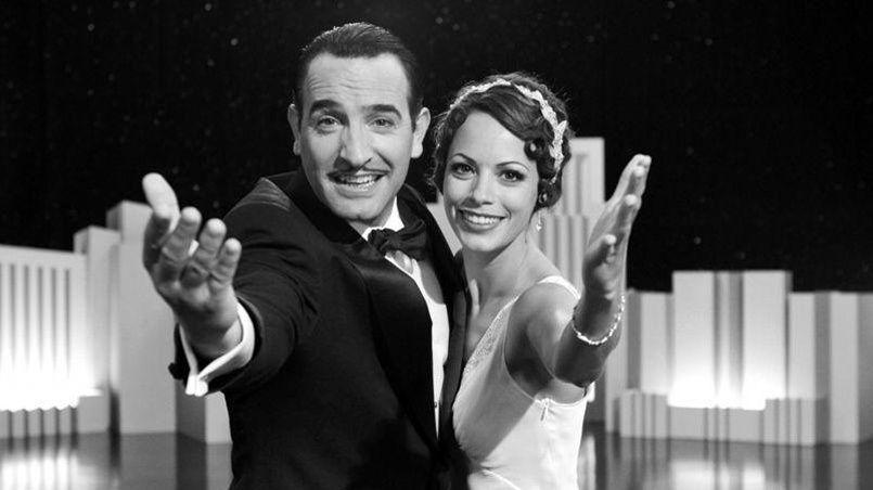 Jean Dujardin et Bérénice Bejo, dans le film The Artist de Michel Hazanavicius.