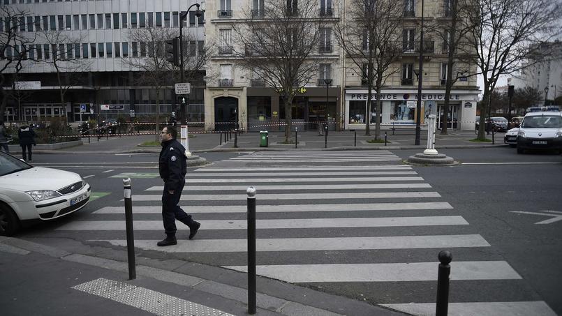 La collision est survenue dans le XIIIe arrondissement de Paris, à proximité de la place d'Italie.