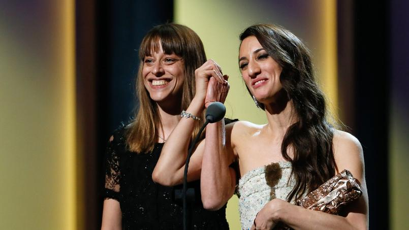 Alice Winocour et Deniz Gamze Ergüven ont obtenu ensemble le César du «meilleur scénario original» pour Mustang.