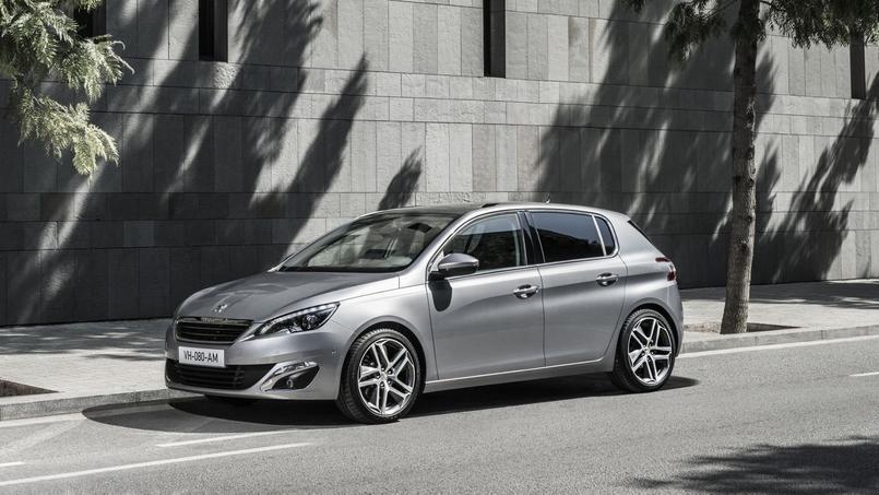 La Peugeot 308 a été la voiture la plus produite en France en 2015.
