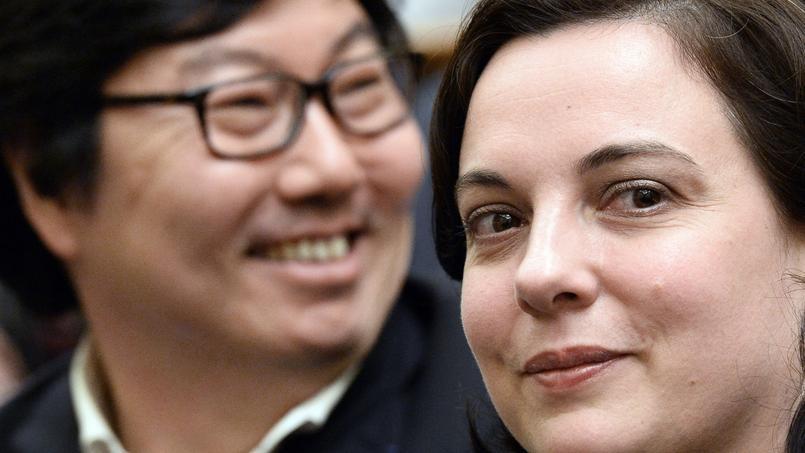Jean-Vincent Placé et Emmanuelle Cosse.