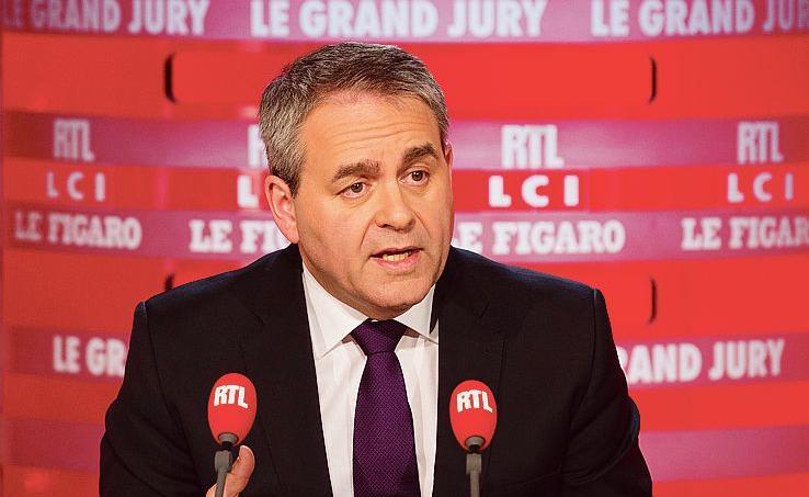Xavier Bertrand était l'invité ce dimanche du «Grand Jury LCI-RTL-Le Figaro».