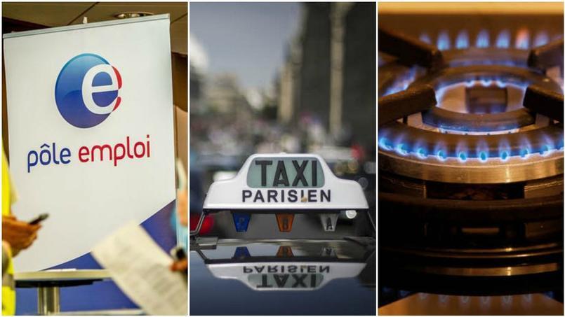 Pôle emploi, taxis, gaz : ce qui change au 1er mars