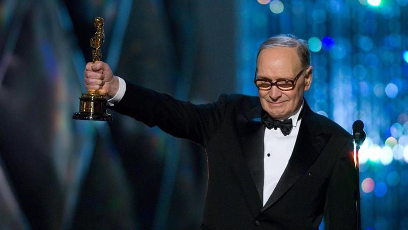 Le compositeur italien, aujourd'hui âgé de 87 ans, a remporté lors de la 88e cérémonie l'Oscar de la meilleure bande originale pour le long-métrage de Quentin Tarantino.