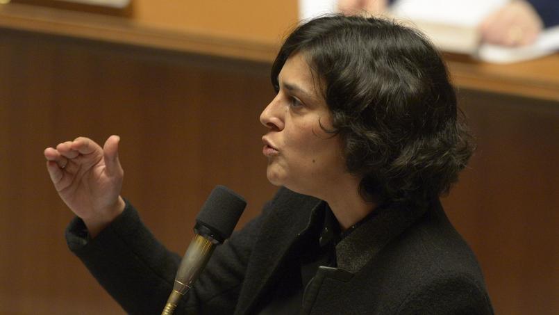 Myriam El Khomri à l'Assemblée nationale, le 9 février 2016.