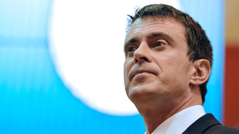 Le premier ministre Manuel Valls au salon de l'Agriculture, le 29 février 2016.