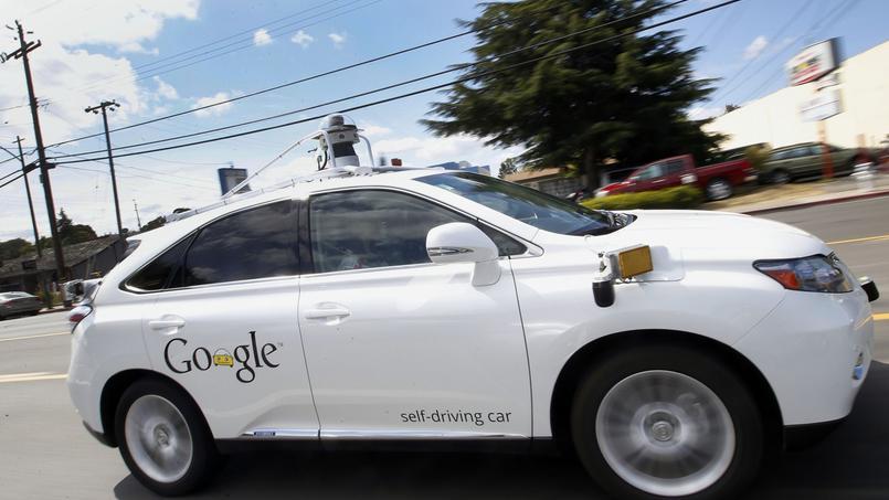 Une Google Car (AP Photo/Tony Avelar).