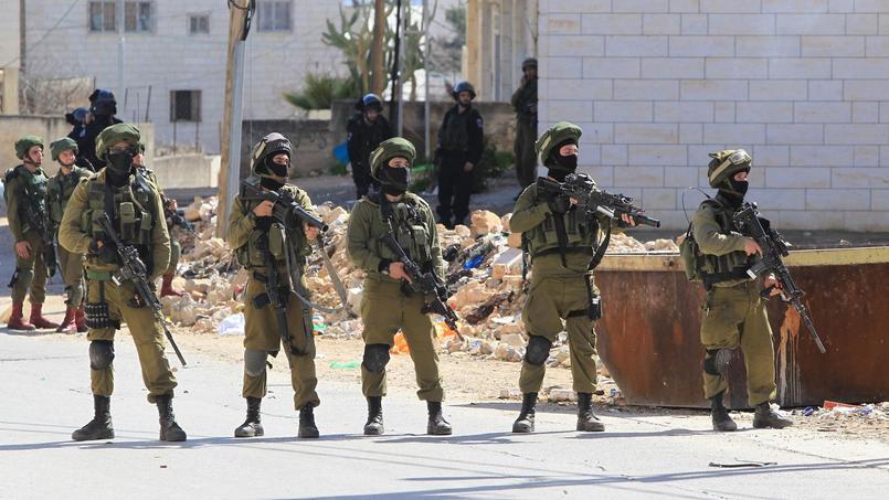 Des forces de sécurité israéliennes.