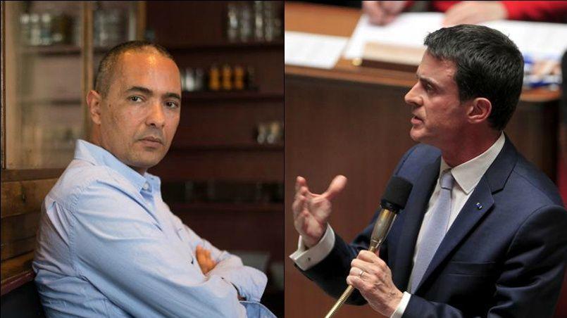 «Les attaques, la hargne inouïe dont Kamel Daoud fait l'objet depuis quelques jours ne peuvent que nous interpeller, nous indigner», a écrit Manuel Valls sur sa page Facebook.