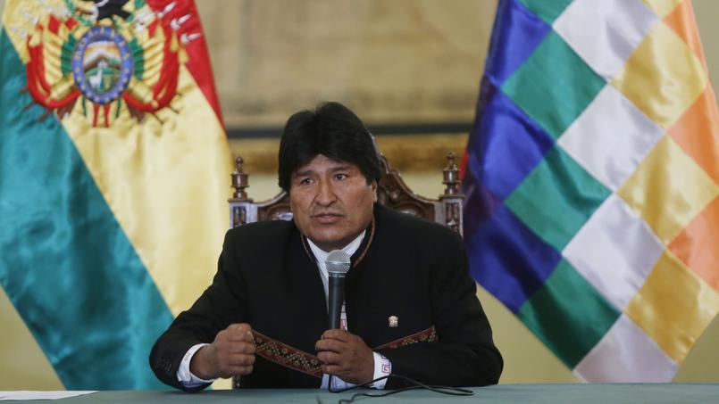 «Je demande à la famille de Gabriela Zapata qu'ils me l'apportent, je l'attends, je veux le recueillir, s'ils me le permettent. J'ai le droit de le voir, de le rencontrer et de prendre soin de lui», estime le président bolivien.