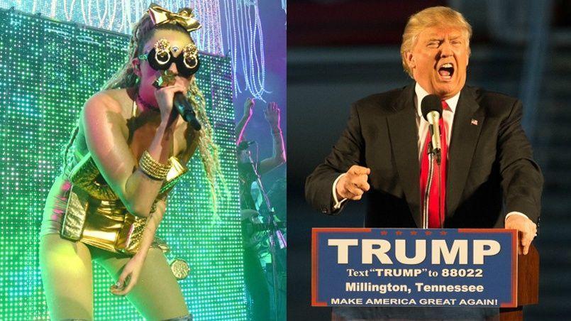 Myley Cyrus: «Honnêtement ça me fait ch***, mais je partirai si c'est ça mon président! Je ne dis pas des choses que je n'ai pas l'intention de faire!»