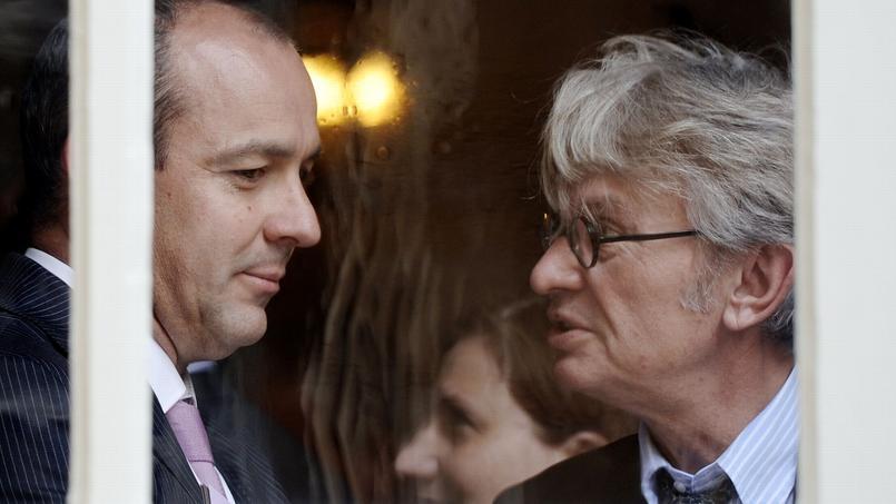 Laurent Berger, secrétaire général de la CFDT, et Jean-Claude Mailly, son alter-ego de FO.