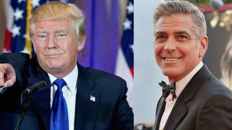 George Clooney attaque violemment le candidat républicain Donald Trump.