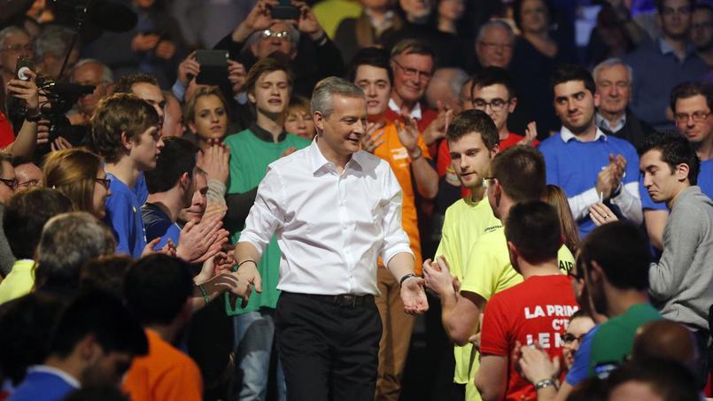Démonstration de force de Bruno Le Maire à huit mois de la primaire