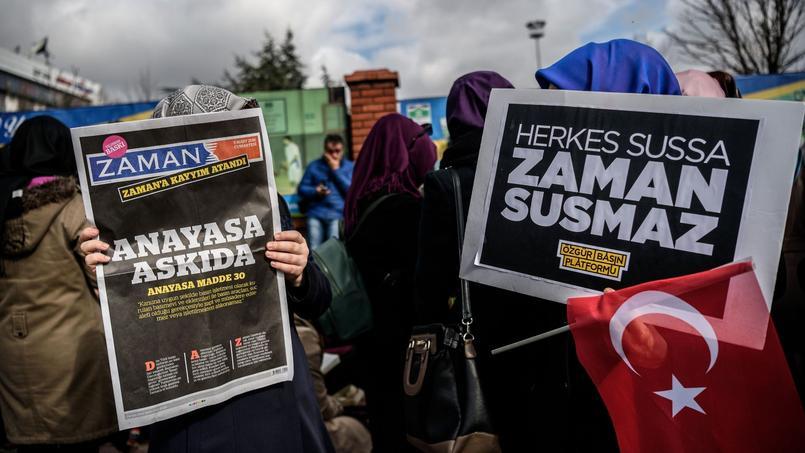 «Jour de honte pour la presse»: c'est avec ce titre qu'est sorti samedi le quotidien Zaman.