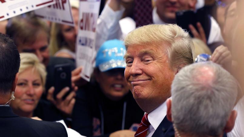 Donald Trump vendredi à La Nouvelle-Orléans.
