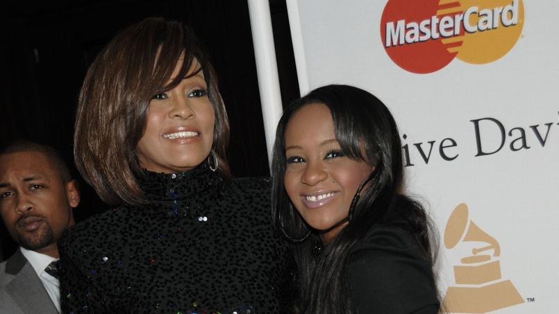Whitney Houston en compagnie de sa fille Bobby Kristina Brown, décédée en juillet 2015 à l'âge de 22 ans.