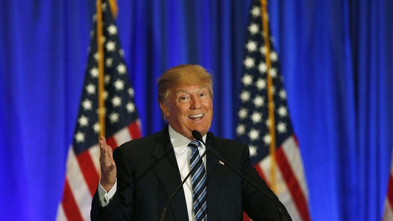 «C'est normal qu'il gagne dans le Maine, c'est proche du Canada», a plaisanté Donald Trump, en allusion au fait que son adversaire Ted Cruz soit né en terre canadienne.